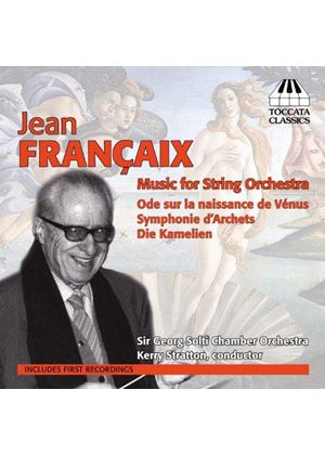 Françaix: Music for String Orchestra (Music CD)