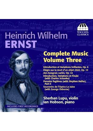 Ernst: Complete Music, Vol. 3 (Music CD)