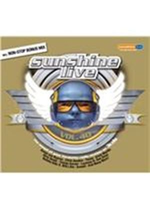 Various Artists - Sunshine Live, Vol. 40 (Music CD)