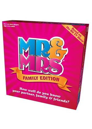 Mr & Mrs Family Edition Box Game