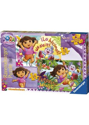 Ravensburger Dora The Explorer 2 In A Box Jigsaw Puzzles