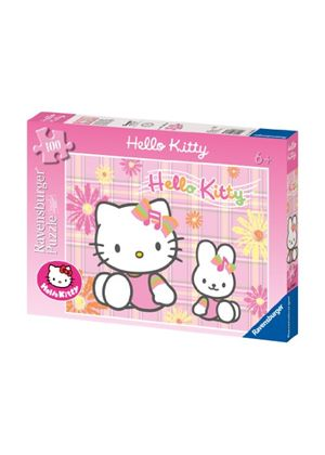 Ravensburger Hello Kitty and My Melody XXL Jigsaw Puzzle (100 Pieces)