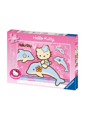 Ravensburger Hello Kitty with Dolphins XXL Jigsaw Puzzle (200 Pieces