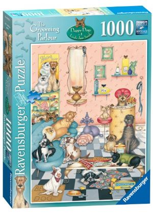 Ravensburger Dappy Dogs Grooming Parlour Puzzle (1000 Pieces)