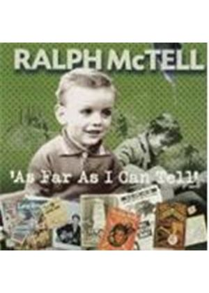 Ralph McTell - As Far As I Can Tell