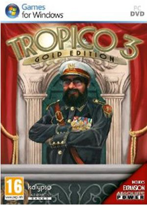 Tropico 3: Gold Edition (PC DVD)