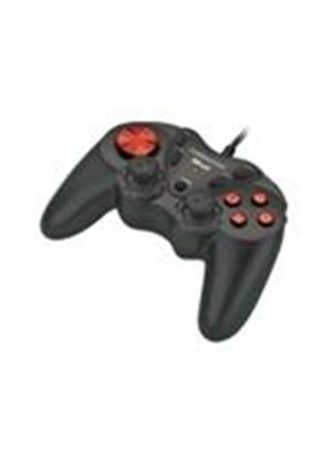 Trust Predator Dual Stick Gamepad GM-1520 - Game pad - 12 button(s) - Sony PlayStation 2, PC
