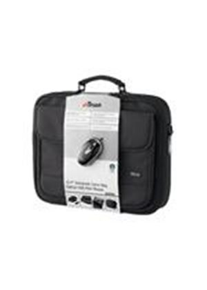 "Trust 15.4"" Notebook Bag & Optical Mini Mouse BB-1150p Notebook carrying case with Trust Optical Mini Mouse"