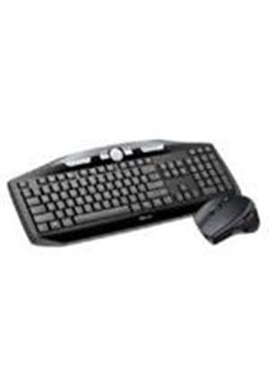 Trust MaxTrack Wireless Keyboard and Wireless Mouse Deskset - UK