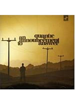 Quantic - An Announcement To Answer (Music CD)
