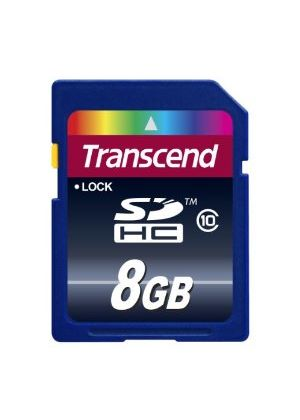 Transcend 8GB SDHC Class 10 Memory Card