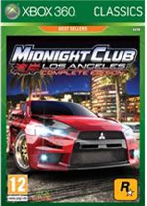 Midnight Club - Los Angeles Classics (Xbox 360)