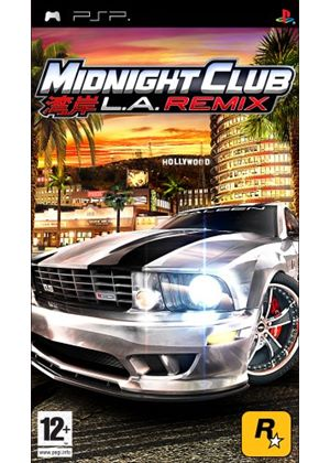 Midnight Club: LA Remix - Platinum Edition (PSP)