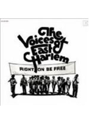 Voices Of East Harlem - Right On Be Free (Music CD)