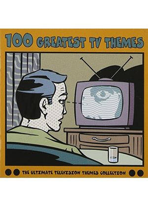 Various Artists - 100 Greatest TV Themes On The Box (Music CD)