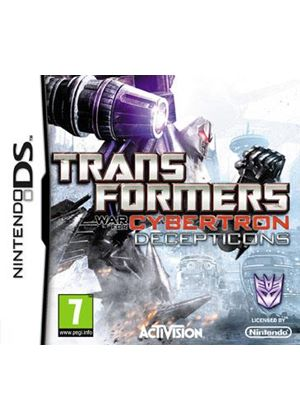 Transformers - War for Cybertron - Decepticons (Nintendo DS)