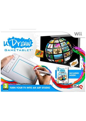 uDraw Games Tablet Including Instant Art (Wii)