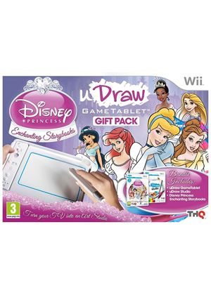 uDraw Disney Princess Gift Pack including uDraw Studio (Wii)