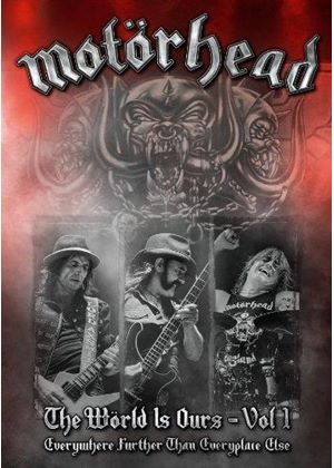 Motörhead - World is Ours, Vol. 1 (Everywhere Further Than Everyplace Else [DVD]/+DVD)