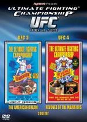 UFC Ultimate Fighting Championship 3 / Ultimate Fighting Championship 4 (Two Discs)