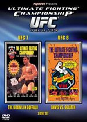 UFC Ultimate Fighting Championship 7 / Ultimate Fighting Championship 8 (Two Discs)