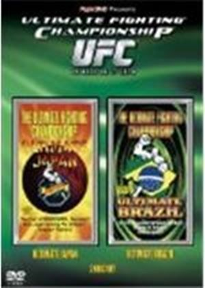 UFC Ultimate Fighting Championship - Ultimate Japan and Ultimate Brazil (DVD)