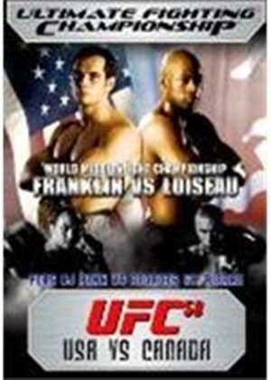 UFC Ultimate Fighting Championship 58 - USA vs Canada