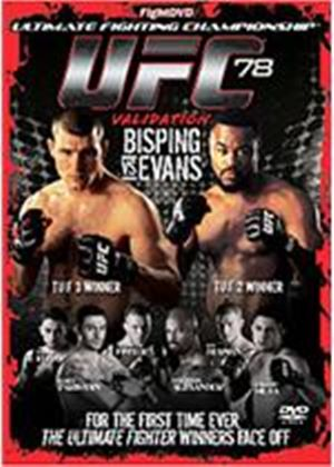 UFC Ultimate Fighting Championship 78 - Validation