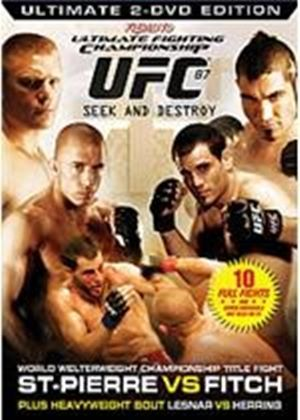 UFC Ultimate Fighting Championship 87 - Seek And Destroy
