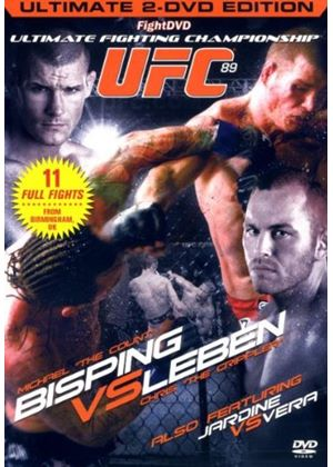 UFC Ultimate Fighting Championship 89 - Bisping Vs Leben