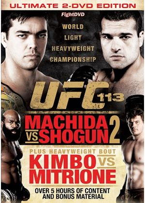 UFC 113: Machida Vs Shogun 2 (Double DVD)