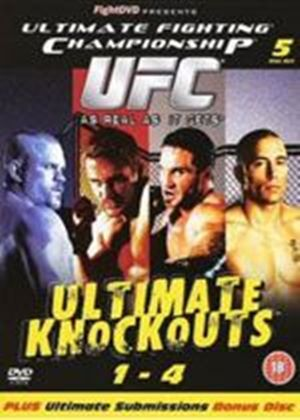 UFC Ultimate Fighting Championship - Ultimate Knockouts Boxset With Bonus Submissions