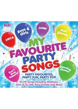 Various Artists - My Favourite Party Songs (Music CD)