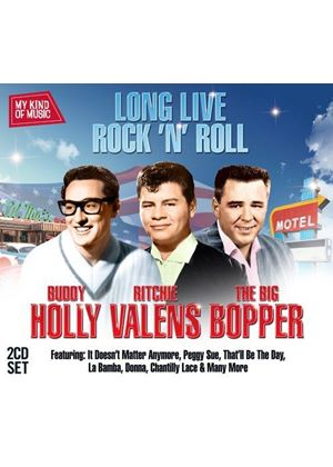 Buddy Holly / Richie Valens / The Big Bopper - My Kind of Music (Long Live Rock 'n' Roll) (Music CD)