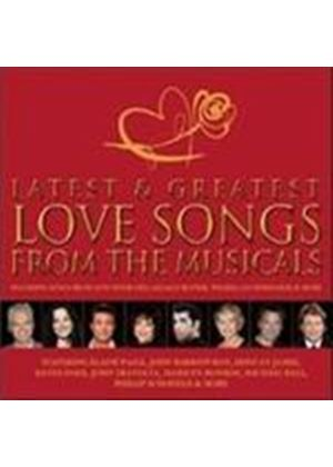 Various Artists - Greatest Love Songs From the Musicals (Original Soundtrack) (Music CD)