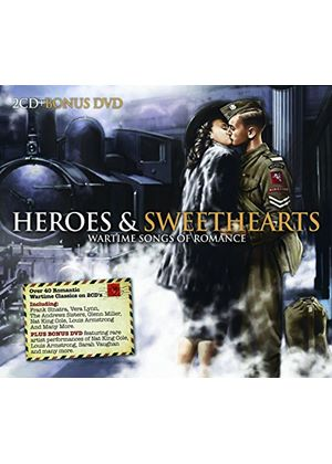 Various Artists - Heroes And Sweethearts (Wartime Songs Of Romance/+DVD)