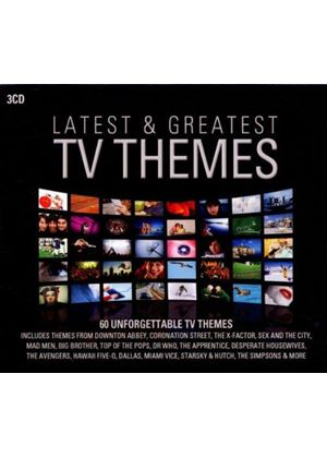 Various Artists - Latest & Greatest TV Themes (Music CD)