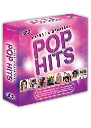 Various Artists - Latest & Greatest Pop Hits (Music CD)