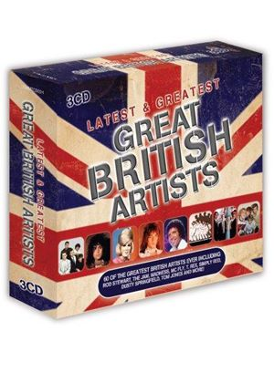Various Artists - Latest & Greatest (Great Bristish Artists) (Music CD)