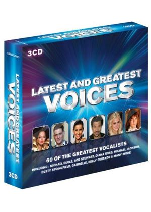Various Artists - Latest & Greatest Voices (Music CD)