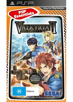Valkyria Chronicles II - Essentials (PSP)