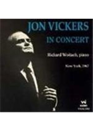 Jon Vickers in Concert