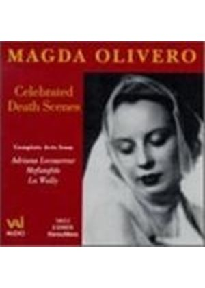 MAGDA OLIVERO - Celebrated Death Scenes