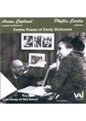 Aaron Copland/Ned Rorem - Twelve Poems Of Emily Dickinson (Curtin, Copland, Rorem)