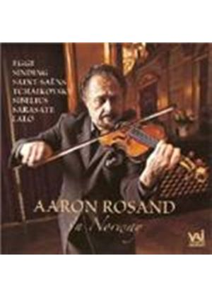 VARIOUS COMPOSERS - Aaron Rosand In Norway (Norwegian RO, Bergen PO)