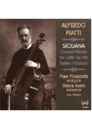 Alfredo Piatti - Siciliana - Music For Cello (Moskowitz)