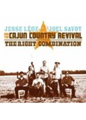 Cajun Country Revival - THE RIGHT COMBINATION (Music CD)