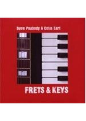 Dave Peabody & Colin Earl - Frets And Keys (Music CD)