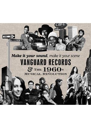 Various Artists - Make It Your Sound, Make It Your Scene (Vanguard Records & The 1960s Musical Revolution) (Music CD)