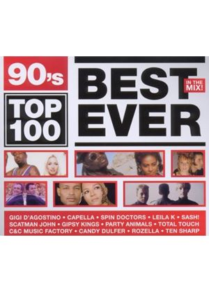 Various Artists - 90s Top 100 Best Ever (Music CD)